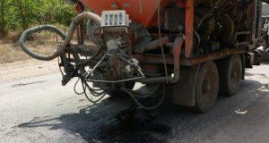 «Крымавтодор» внедрил метод экспресс-ремонта дорог