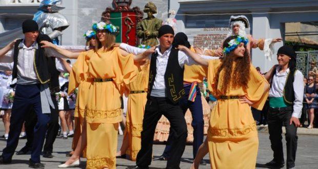 Греческий фестиваль «Элефтерия — 2018» на Караимской в Евпатории