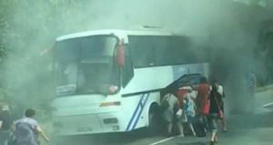 В Крыму на ходу горят автобусы. Раз в день