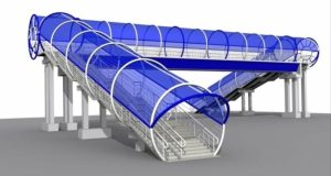 Три надземных пешеходных перехода построят на трассе «Симферополь – Ялта»
