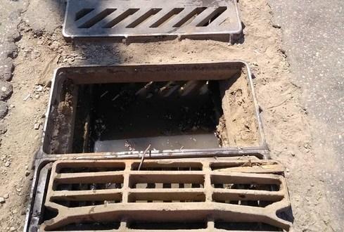 В Симферополе приводят в порядок ливневую канализацию
