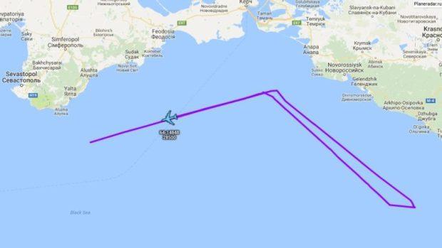 На смену разведчикам-беспилотникам к берегам Крыма подлетел Боинг RC-135 V «Ривет Джойнт»