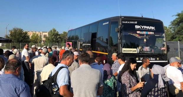 Мусульмане Крыма отправились в Хадж