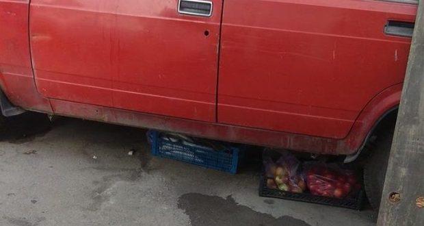 """""""Фишки"""" торговцев Керчи: рыба под машиной и """"автоэкспозиция"""" на горе Митридат"""