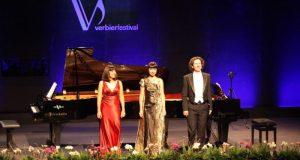 Крымская художница Ксения Симонова выступила на Музыкальном Фестивале Вербье в Швейцарии