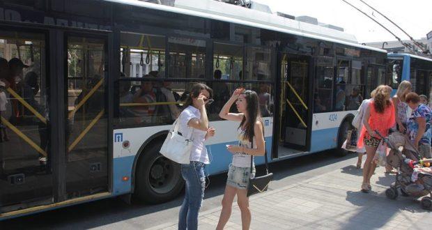 Стоимость проезда в городских троллейбусах Крыма может повыситься