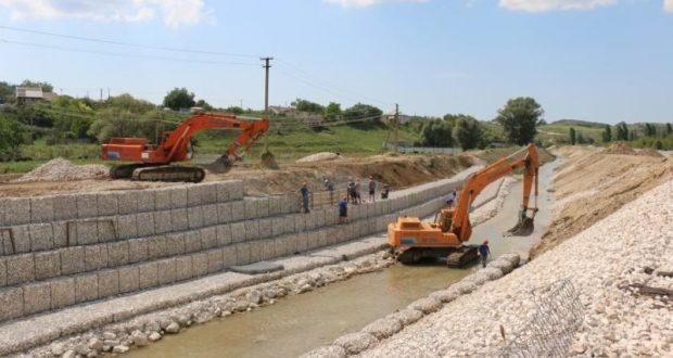 В Севастополе укрепляют берега реки Бельбек