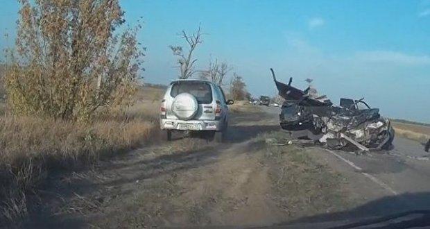В ГИБДД сообщили подробности смертельного ДТП в Сакском районе Крыма
