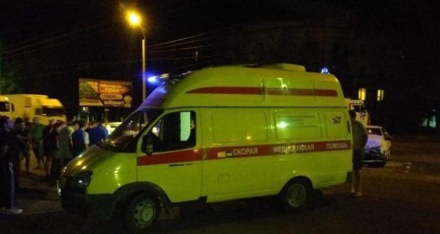Вечернее ДТП в Керчи. Четверо пострадавших