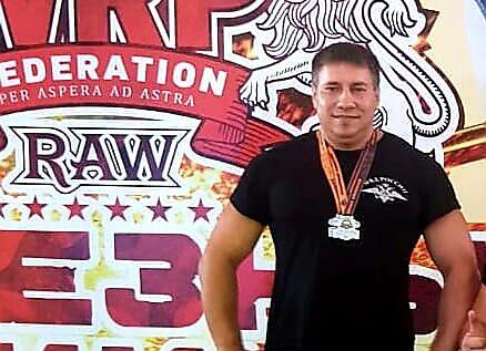 Полицейский из Севастополя Александр Козлов - в победителях Всероссийского турнира по армлифтингу