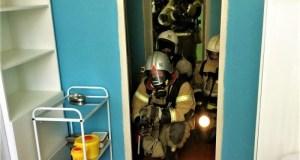 В Керчи тушили пожар в школе. Учебный
