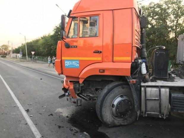 Смертельное ДТП в Приморском, под Феодосией