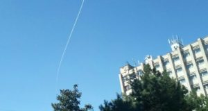 В небе над Симферополем опять «бабахнуло»
