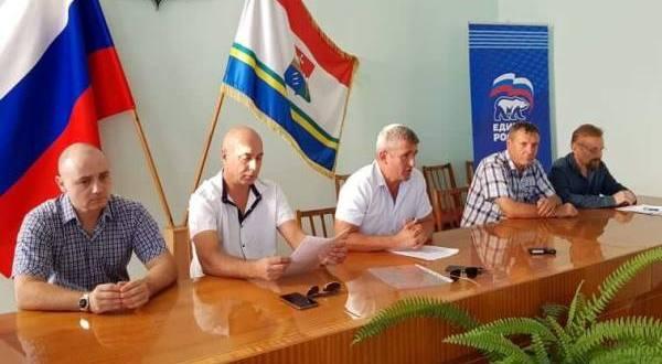 Балаклавские депутаты партии «Единая Россия» отчитались о проделанной работе