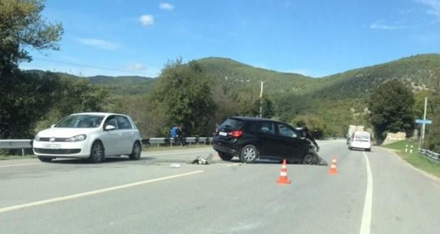 Два серьезных ДТП на трассе «Севастополь – Ялта». Есть пострадавшие