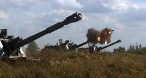 Артиллеристы береговых войск Черноморского флота проводят учения – лагерные сборы