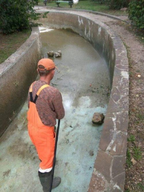 В Симферополе очистили одно из любимых мест отдыха горожан