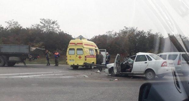 ДТП на трассе «Симферополь – Джанкой». Трое пострадавших