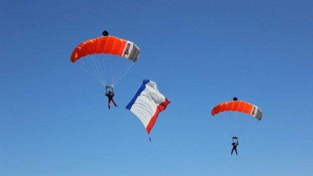 В Коктебеле, на горе Клементьева отметили 95-летие планерного спорта в России
