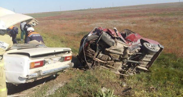 В Крыму в ДТП с двумя ВАЗами погиб человек