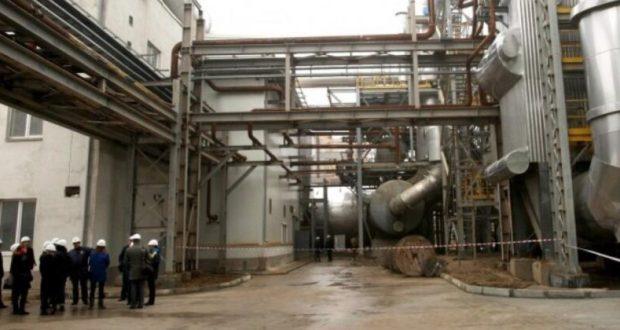Завод «Крымский Титан» в Армянске снова работает