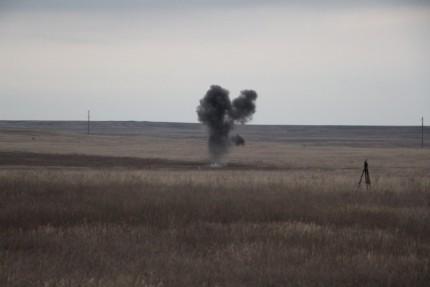 В Ленинском районе Крыма обезврежено 4 взрывоопасных предмета