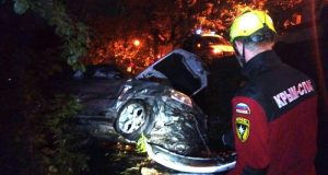 Крепче за баранку держись, шофер! В Крыму участились случаи «вылета» авто с проезжей части