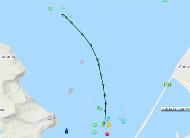 В Азовском море потерпел бедствие сухогруз «Nila»