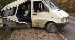 Подробности о ДТП с микроавтобусом на трассе «Симферополь – Керчь»