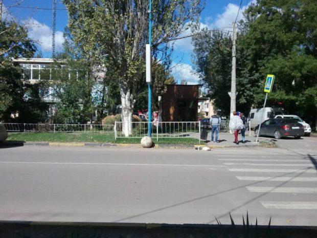 Развлечение или вандализм? В керченском Молодежном парке украли… бетонный шар