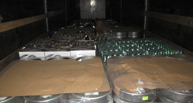 Пресечена незаконная перевозка алкогольной продукции по Крымскому мосту