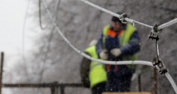 В Крыму непогода обесточила семь населенных пунктов