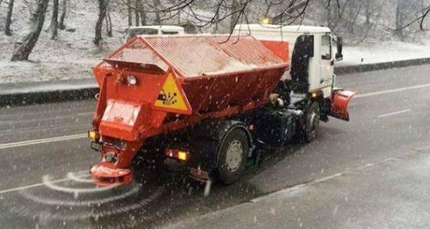 Как «Крымавтодор» победил первый снег