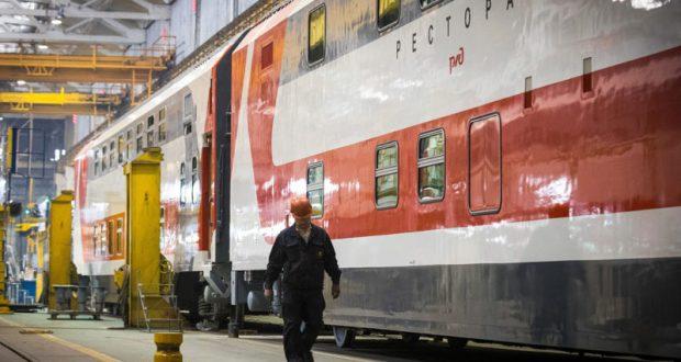 В Крым запустят двухэтажные железнодорожные составы
