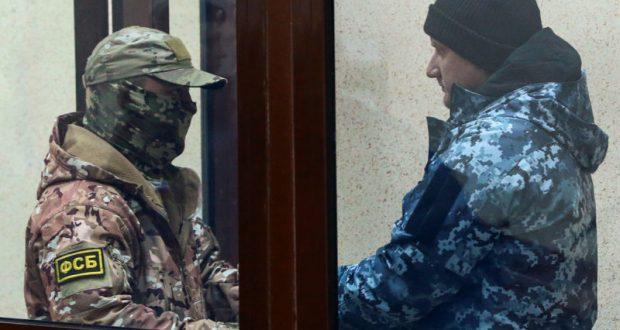 Дело украинских военных моряков - нарушителей границы. Все арестованы до 25 января