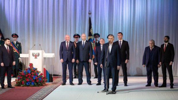 Сергей Аксёнов принял участие в официальной церемонии инаугурации Главы ДНР. Подробности