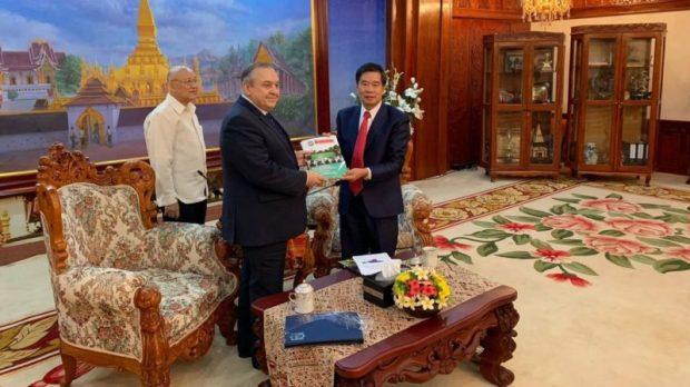Крымская делегация посетила Лаосскую Народно-Демократическую РеспубликуКрымская делегация посетила Лаосскую Народно-Демократическую Республику