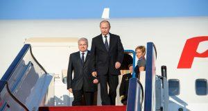 В Крым летит Президент России Владимир Путин