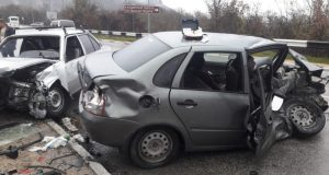 Утреннее ДТП на трассе «Ялта – Севастополь». Трое пострадавших