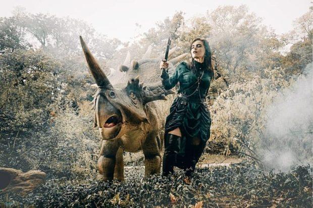 Парк динозавров Никитского сада приглашает в гости Мам! Бесплатно с 29 ноября по 4 декабря