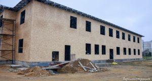 В четырёх детских садах Евпатории продолжаются строительные работы