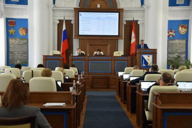 Бюджет Севастополя на три последующих года принят в первом чтении