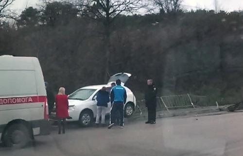 ДТП на выезде из Симферополя: эффект парных случаев