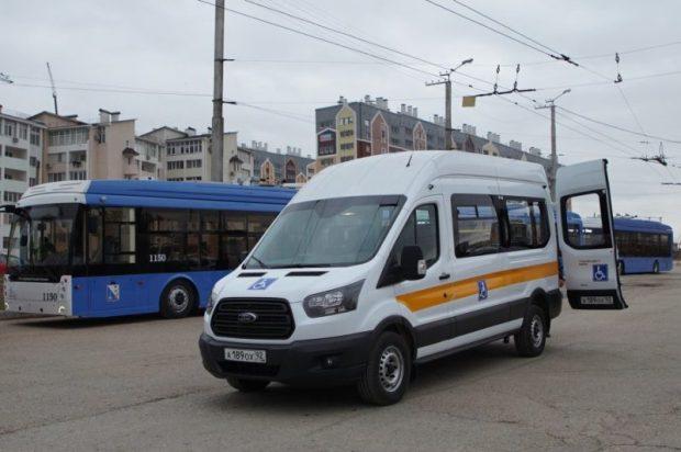 """В Севастополе развивают """"Социальное такси"""""""