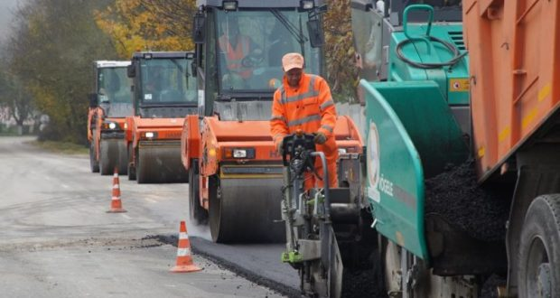 Под Севастополем завершают ремонт автомобильной дороги Орлиное – Тыловое
