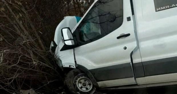 ДТП с машиной инкассации на трассе «Симферополь – Севастополь». Четверо пострадавших