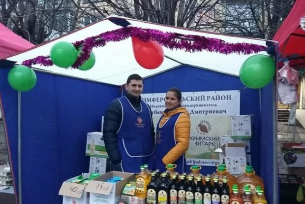 На предновогодней ярмарке в Симферополе распродали 184 тонны продукции