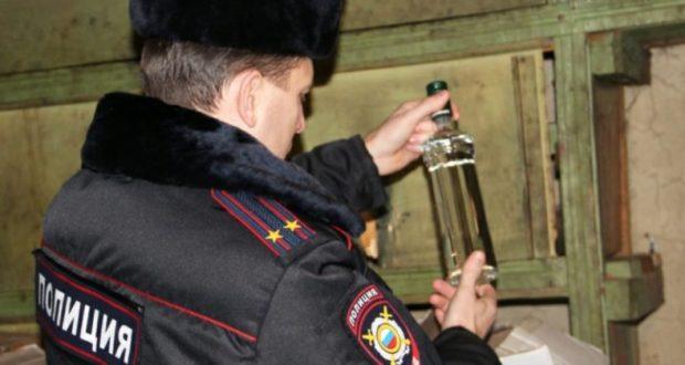 Полиция Крыма предупреждают граждан об опасности отравления контрафактным алкоголем
