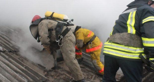 На пожаре в Крыму погиб человек. Итоги недели от МЧС
