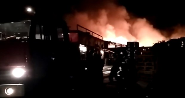 В предновогоднюю ночь в курортном поселке Николаевка сгорело кафе